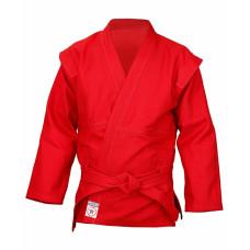 Куртка самбо Крепыш красная