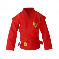 Куртка детская самбо Крепыш красная