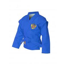 Куртка детская самбо Крепыш синяя