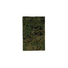 Фальшпогоны «русская цифра» вышитые зеленым (младший лейтенант)